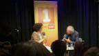 Ivna Žic im Gespräch mit Michael Luisier in der Barakuba Bar