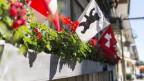 Ein «choge», «schüüli» oder «hüüne» schöner Blich ins Dorf.