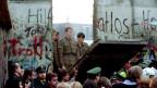 Eine Lücke in der Berliner Mauer