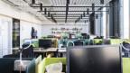 Eine Bürolandschaft von Google Schweiz in Zürich.