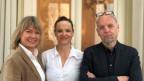 Andrea Freiermuth und Beat Bieri zu Gast bei Daniela Lager (links)
