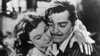 Szene aus dem Film von 1939 mit Vivien Leigh undClark Gable