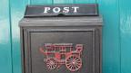 Ein Briefkasten.