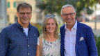 Oliver Fuchs, Zoe Haas und Dani Fohrler