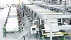 Maschinenpark für Textlindustrie