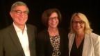 Marcel Fontani, Ursula Keller und Sonja Hasler