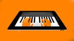 Symbol auf Orange