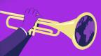 Symbol auf Violet