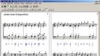 screenshot einer veralteten Software zum Musik komponieren