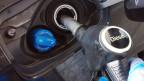 Dieseltank mit AdBlue-Tank