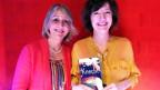 Luzia Stettler und die Autorin Doris Knecht