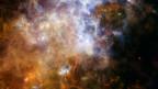 Infrarot-Bild, aufgenommen vom Weltraumteleskop Herschel.