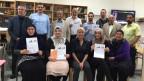 Eine Gruppe von muslimische Notfallseelsorgern.