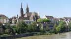 Münster Basel von Kleinbasel aus gesehen.