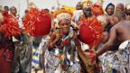 Woodoo-Anhänger in Benin