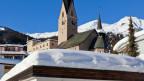 Kirche in Davos.