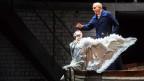 Foto einer Opernaufführung von «Lohengrin»
