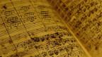 Notenblatt von J.S. Bach.