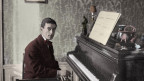 Portraitzeichnung von Maurice Ravel.