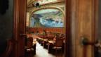 Blick in den Nationalratssaal im Bundeshaus