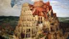 Ein Gemälde des Turms zu Babel.
