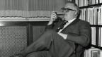 Friedrich Dürrenmatt Ende der 1950er Jahre.