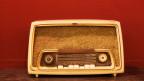 Bild eines alten Radios