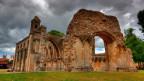 Sagenumwoben: Die Abtei von Glastonbury.