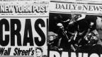 Schlagzeilen zum schwarzen Montag (19.10.1987)