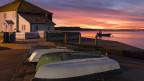 Foto von einem malerischen Fischerdorf
