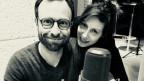 «Dune am Meer»: Philippe Langenegger und Jeanne Devos im Hörspielstudio.
