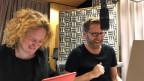 Timo und Paps (Fabienne Hadorn und Samuel Streiff)