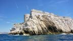 Das Schloss der Eibe bei Marseille.