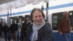 Jürg Amann am Zürcher Bellevue (2008).