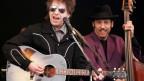Bob Dylan während eines Konzerts