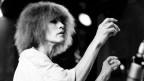 Portrait von Carla Bley am Jazz Festival in Montreux 1984.