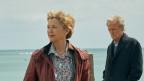 Mann und Frau am Meer