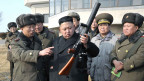 Kim Jong Un auf einem Foto, das 2013 von der nordkoreanischen Nachrichtenagentur freigegeben wurde.