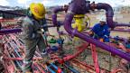 Fracking, eine verheissungsvolle aber auch umstrittene Technik.