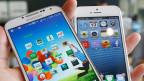 Erfolg durch Nachahmen: Samsungs Galaxy S4 und Apples iPhone 5.