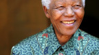 Nelson Mandela in seinem Zuhause in Johannesburg, 2005.