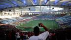 In Rios Maracanã-Stadion.