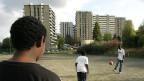Grigny, ein Vorort südlich von Paris und Schauplatz der gewalttätigen Zusammenstösse mit der Polizei im Jahr 2005.