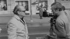 1971 bei den Dreharbeiten für den Schweizer Dialektfilm «Der Fall».