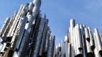 Die Finnen und ihre Musik: Hier das Denkmal für den Komponisten Jean Sibelius in Helsinki.