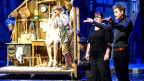 Gebärdendolmetscher übersetzten eine Pinocchio-Aufführung am Deutschen Nationaltheater Weimar für gehörlose Zuschauer
