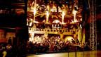 Der Theaterraum des Belluard Bollwerk Theaterfestivals in Fribourg