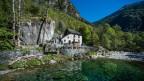 Ein Grotto in Peccia