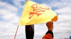 Begehrte Ressourcen: Protest gegen eine Shell-Ölbohrinsel in der Arktis.
