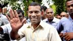 Die Festnahme von Ex-Präsident Mohamed Nasheed löste auf den Malediven Unruhen aus.